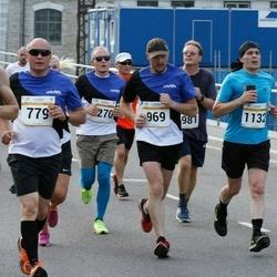 Tallinna Maratoni Sügisjooks 10 km - Boriss Burkov (779), Priit Laanekivi (969)