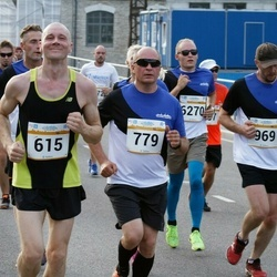 Tallinna Maratoni Sügisjooks 10 km - Kaarel Kotkas (615), Boriss Burkov (779)