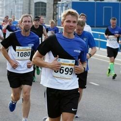 Tallinna Maratoni Sügisjooks 10 km - Kuido Musten (1080), Andi Nõmmela (3699)