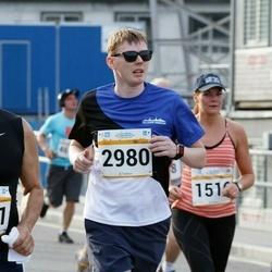 Tallinna Maratoni Sügisjooks 10 km - Kristel Vaarmets (1516), Alexander Shaykin (1661), Aivo Juhe (2980)