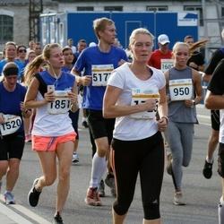 Tallinna Maratoni Sügisjooks 10 km - Christyn Liiva (950), Peeter Allik (1073), Rita Gross (1520), Annely Kärema (1726), Liisa Jaagant (1851), Regor Siiner (5177)