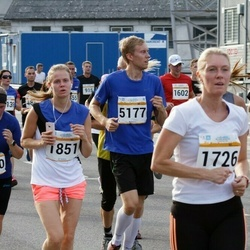 Tallinna Maratoni Sügisjooks 10 km - Rita Gross (1520), Annely Kärema (1726), Liisa Jaagant (1851), Regor Siiner (5177)