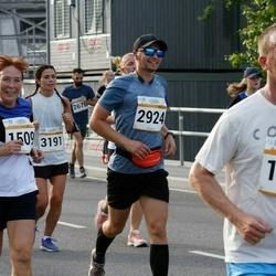 Tallinna Maratoni Sügisjooks 10 km - Urmas Koidu (1180), Pärja Soom (1509), Nikolajs Semjonovs (2924), Anna Maria Võsu (3191)
