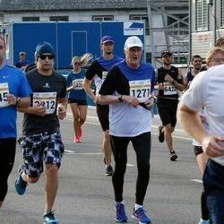 Tallinna Maratoni Sügisjooks 10 km - Björn Moritz (569), Kuno Tormer (1271), Katrina Rønningen (2312), Janar Holm (2745)