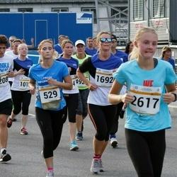 Tallinna Maratoni Sügisjooks 10 km - Olesja Lagašiina (529), Siret Juhkam (1541), Monika Paletzky (1692), Anna-Ly Truusalu (2617), Anton-Theo Girlin (6208)