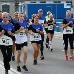 Tallinna Maratoni Sügisjooks 10 km - Janne-Merilyn Kureküla (1655), Tuuliky Tarum (1688), Andero Piperal (2051)