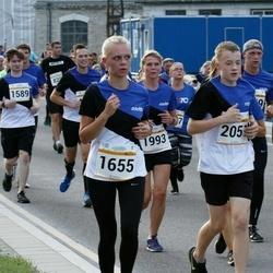Tallinna Maratoni Sügisjooks 10 km - Janne-Merilyn Kureküla (1655), Andero Piperal (2051)