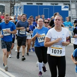 Tallinna Maratoni Sügisjooks 10 km - Liivika Tamm (1019), Krislin Pärt (1966), Artur Afanasjev (2850), Leo Lilloveer (5819)