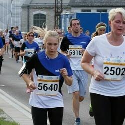 Tallinna Maratoni Sügisjooks 10 km - Sigrid Mark (2502), Anni Pallav (5640), Reio Kähr (6310), Vallo Goroško (11985)
