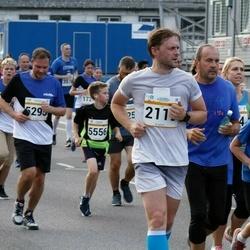 Tallinna Maratoni Sügisjooks 10 km - Madis Jauk (2119), Kregor Veber (3742), Artem Stepanenko (5295), Daniel Rybakov (5556)
