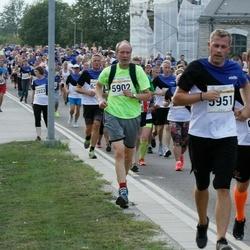 Tallinna Maratoni Sügisjooks 10 km - Kristiin Kitkas (2023), Ants Soosõrv (5902), Brenet Rahumägi (6203), Denis Antonov (6587)