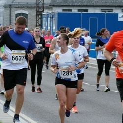 Tallinna Maratoni Sügisjooks 10 km - Anna Markova (1289), Svetlana Ziogeviciute (4019), Ants Kann (4995), Aleksei Safjanov (6637)