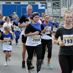 Tallinna Maratoni Sügisjooks 10 km - Piret Reinumägi (1937), Katariina Ingerma (2008), Andra Klettenberg (4614), Keirin Rebane (5073), Margus Peet (5861), Reet Järsk (6335)