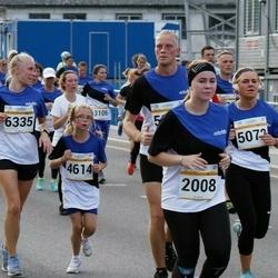 Tallinna Maratoni Sügisjooks 10 km - Piret Reinumägi (1937), Katariina Ingerma (2008), Andra Klettenberg (4614), Keirin Rebane (5073), Reet Järsk (6335)