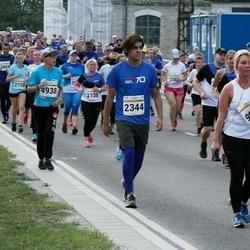 Tallinna Maratoni Sügisjooks 10 km - Arina Alektorova (2138), Ignacio Galindo (2344), Vadim Antifejev (4938), Olga Averina (9681)