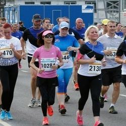 Tallinna Maratoni Sügisjooks 10 km - Meril Mägi (470), Hanna Marie Raag (1554), Arina Alektorova (2138), Momoko Kato (10284)