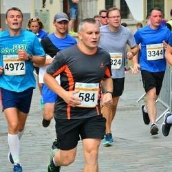 Tallinna Maratoni Sügisjooks 10 km - Marko Haidak (584), Janno Rätsep (3344), Arlis Pipenberg (4972)