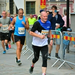 Tallinna Maratoni Sügisjooks 10 km - Ago Pukspuu (1648), Hannes Kaas (6389)