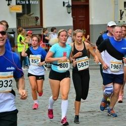 Tallinna Maratoni Sügisjooks 10 km - Kadi Väliste (800), Adele Metsniit (857), Vitalijus Budrys (1961), Annabel Kaasik (5832)