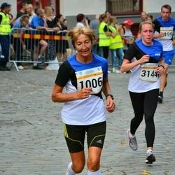 Tallinna Maratoni Sügisjooks 10 km - Annelii Eglit (1006), Anna Naumova (3144)