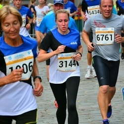 Tallinna Maratoni Sügisjooks 10 km - Annelii Eglit (1006), Anna Naumova (3144), Lauri Säärits (6761)
