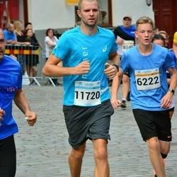 Tallinna Maratoni Sügisjooks 10 km - Ander Leiste (6222), Roger Rooma (11720)