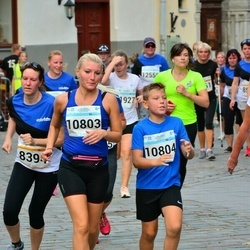 Tallinna Maratoni Sügisjooks 10 km - Anna Khandogina (10803), Kirill Khandogin (10804)