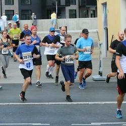 Tallinna Maratoni Sügisjooks 10 km - Maris Freudenthal (683), Kuldar Agu (1453), Eduard Meresmäe (2284), Ago Veskimäe (3331), Rain Rohi (3876)