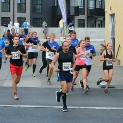 Tallinna Maratoni Sügisjooks 10 km - Alexander Shaykin (1661), Janar Holm (2745), Sonja Häkli (3538), Alexandra Ulyanova (6628)