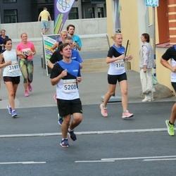 Tallinna Maratoni Sügisjooks 10 km - Marju Soonets (1148), Anna Maria Võsu (3191), Tanel Kadaru (4737), Hendrick Rang (5208)