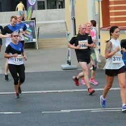 Tallinna Maratoni Sügisjooks 10 km - Peeter Uustal (1660), Tracy Anne Wenzinger (1790), Anna Maria Võsu (3191)