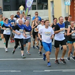 Tallinna Maratoni Sügisjooks 10 km - Mihkel Pihl (1020), Toomas Sert (1093), Ago Pukspuu (1648), Jelena Trumm (1747)