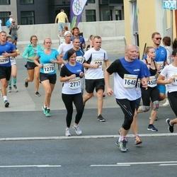 Tallinna Maratoni Sügisjooks 10 km - Jelena Tšaikovskaja (1278), Helje Tamm (1411), Ago Pukspuu (1648)