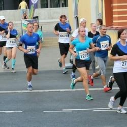 Tallinna Maratoni Sügisjooks 10 km - Jelena Tšaikovskaja (1278), Reelika Lõhmus (1943), Christian Junginger (6676)