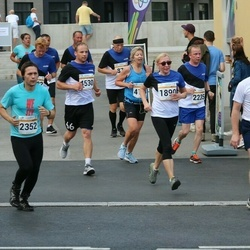 Tallinna Maratoni Sügisjooks 10 km - Sirli Org (1890), Arnold Viinamäe (5526)