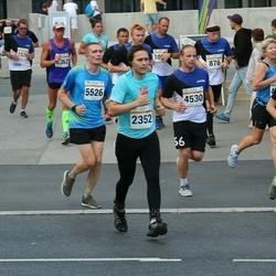 Tallinna Maratoni Sügisjooks 10 km - Rauno Tikko (4530), Arnold Viinamäe (5526)