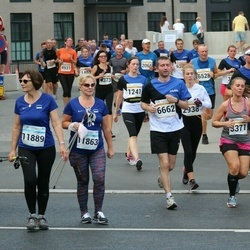 Tallinna Maratoni Sügisjooks 10 km - Kristi Kongo (1241), Zinaida Khudoshina (2821), Agnese Lagzdina (3371), Indrek Univer (6662), Ly Teevet (11863), Mare Rummi-Miilmets (11889)