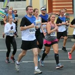 Tallinna Maratoni Sügisjooks 10 km - Agnese Lagzdina (3371), Indrek Univer (6662)