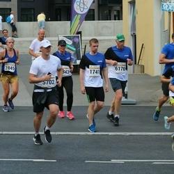 Tallinna Maratoni Sügisjooks 10 km - Alari Rotka (1741), Camilla Borring (2845), Hannes Tasso (5702), Maksim Latkin (6176), Marcel Einert (6699)