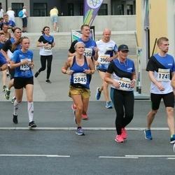 Tallinna Maratoni Sügisjooks 10 km - Peter Repkin (636), Alari Rotka (1741), Kaie Valk (2843), Camilla Borring (2845), Hannes Tasso (5702), Maksim Latkin (6176)