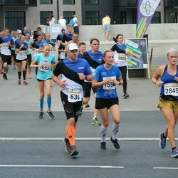 Tallinna Maratoni Sügisjooks 10 km - Peter Repkin (636), Camilla Borring (2845)
