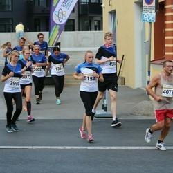 Tallinna Maratoni Sügisjooks 10 km - Anna Grund (1351), Meidi Sirk (2072), Käthlin Saluveer (2990), Sergei Kruglov (4077), Liis Simpson (5154)