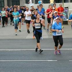 Tallinna Maratoni Sügisjooks 10 km - Eve Toiger (1045), Berit Brandt (2994)