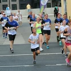 Tallinna Maratoni Sügisjooks 10 km - Anna Mohnatseva (1163), Meelis Rum (2247)