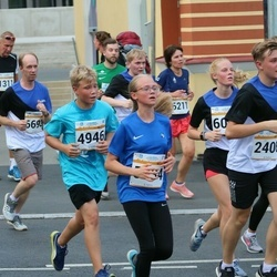 Tallinna Maratoni Sügisjooks 10 km - Sander Teder (2406), Anderi Povodov (4946)