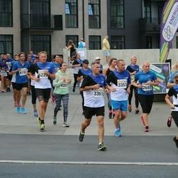 Tallinna Maratoni Sügisjooks 10 km - Piia Enno (2652), Branislav Koniar (3361), Gülnara Irbe (4207), Janek Minnik (6229)