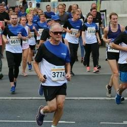 Tallinna Maratoni Sügisjooks 10 km - Kristina Morekvas (1858), Pasi Puranen (3774), Alexander Sokolov (6458), Ervo Vaatmann (6611)