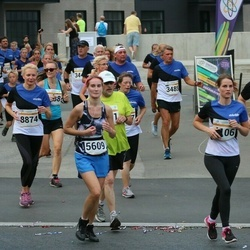 Tallinna Maratoni Sügisjooks 10 km - Anastasia Jefimova (5609), Signe Juhkam (8874)