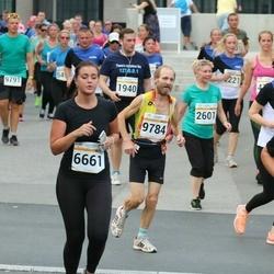 Tallinna Maratoni Sügisjooks 10 km - Artur Minasjan (1940), Galina Gluhhova (2601), Ene Rooväli (2894), Liisa End (6661)