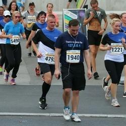 Tallinna Maratoni Sügisjooks 10 km - Krista Jõessar (1221), Artur Minasjan (1940), Ulvi Tallo (5490)